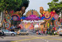 Du lịch mùa Thu Singapore - Lễ hội ánh sángDeepavali